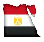 egypt-flag-map