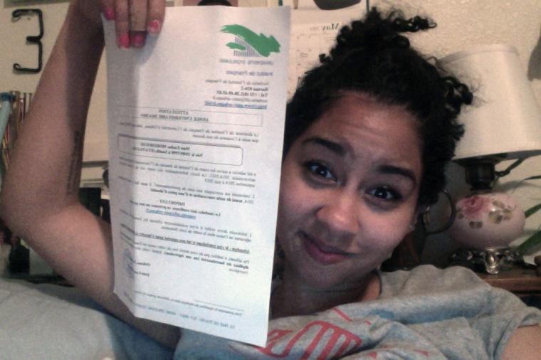 I got my acceptance letter last night!