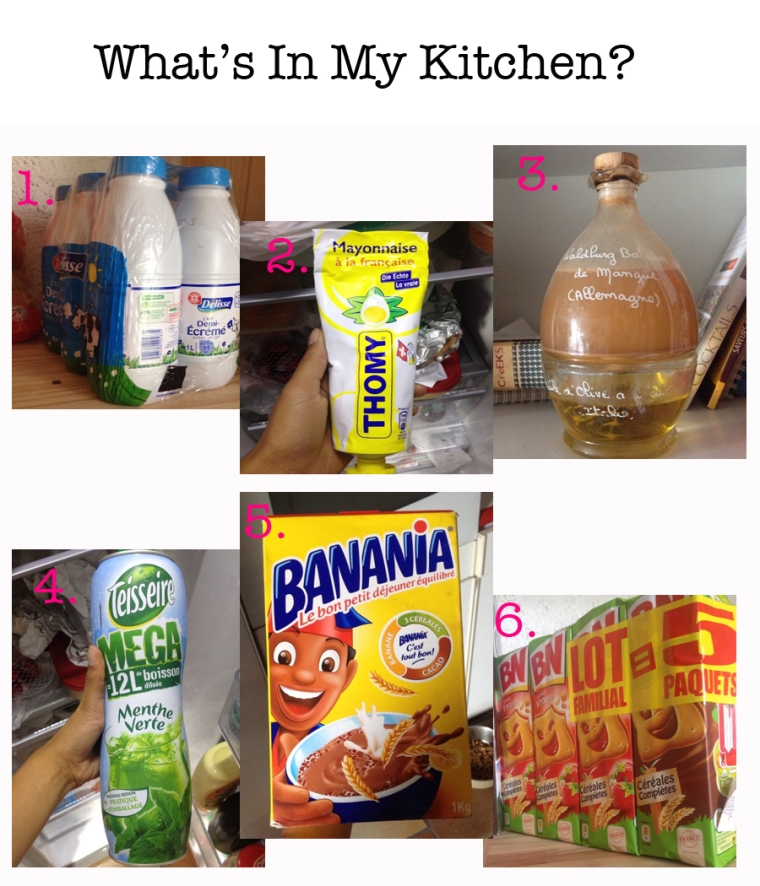 Whats in my kitchen